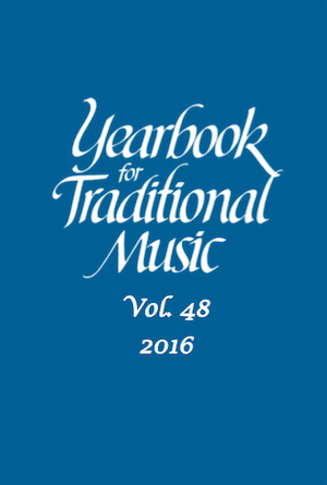 Yearbook for Traditional Music Vol. 48 (2016)